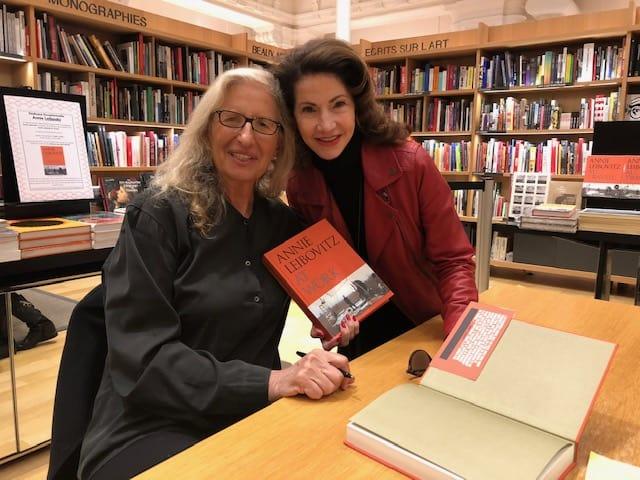 Gayle with Annie Leibovitz