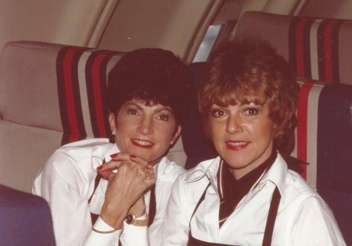 Gayle and Susan