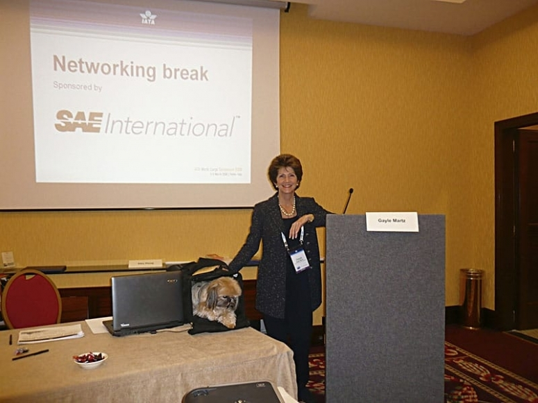 Very Important Speech in Rome, Italy for IATA on Safe Pet Travel
