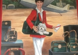 11 SHERPA in her SHERPA Bag, of course... The beginning of the Revolution in Pet Travel.