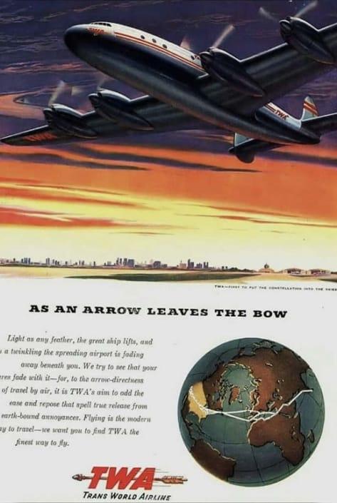 As the Arrow Leaves the Bow