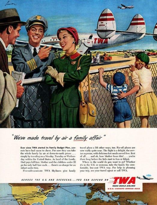 Travel by air a family affair